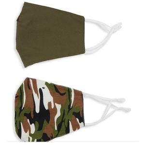 Camo Green Face Mask Set Adjustable Lightweight …